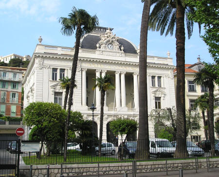 architecture in nice france chambre de commerce building