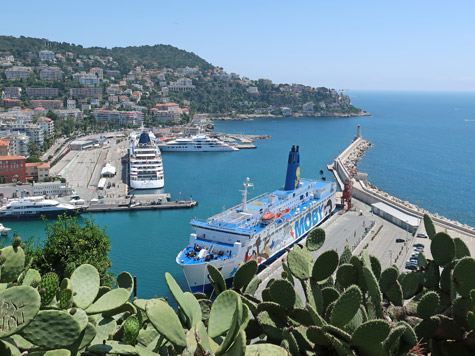Ferry Terminal in Nice France