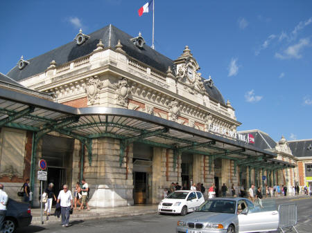 Nice France Train Station - Gare de Nice