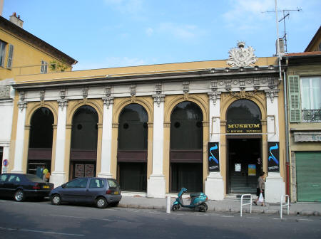 Museum of Natural History of Nice France (Musee d'Histoire Naturelle de Nice)