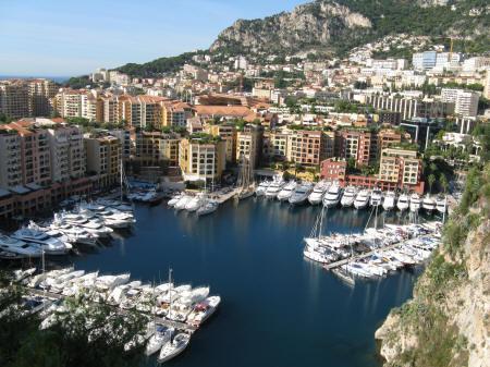Map of Monaco Monte Carlo and MonacoVille