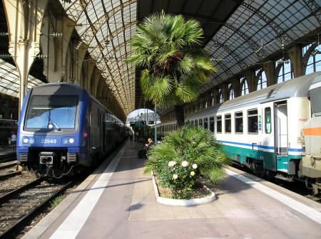 Central Train Station In Nice France Gare De Nice Ville