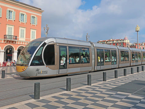Tramway in Nice France