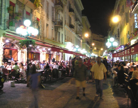 Night Life in Nice France