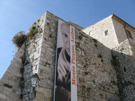 Picasso Museum near Nice France