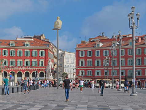 Place Massena in Nice France